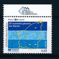 SAN MARINO Mi. Nr. 2594 59. Vollversammlung Der PostEurop - MNH - San Marino