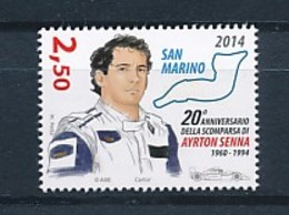 SAN MARINO Mi. Nr. 2596 20. Todestag Von Ayrton Senna - MNH - San Marino