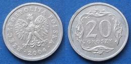 POLAND - 20 Groszy 2004 MW Y# 280 Monetary Reform (1992) - Edelweiss Coins - Polonia