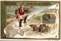 CHROMO Liebig  EN VOITURE - Liebig
