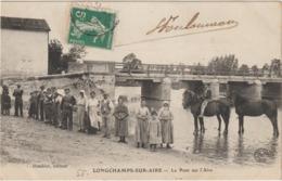 CPA  55  LONGCHAMPS SUR AIRE LE PONT SUR L AIRE  BEAU PLAN - France