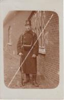 FOTOKAART CARTE PHOTO KAMP BEVERLOO LEOPOLDSBURG BOURG LEOPOLD 1911 MILITAIR JULES IN UNIFORM / BAJONET - Leopoldsburg (Kamp Van Beverloo)