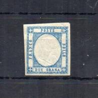 Italia -Regno Delle Due Sicilie -Province Napoletane -1861 - V.E. II° - 2 Grana - Azzurro Chiaro - Nuovo ** - (FDC18495) - Neapel