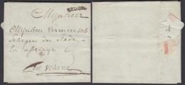 BELGIQUE LETTRE DE BRUGES  24/01/1782 VERS VUERNE  (BE) DC-4688 - 1714-1794 (Paises Bajos Austriacos)