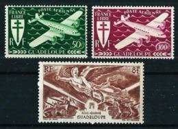 Guadalupe (Francesa) Nº A-4/5-6 Nuevo - Guadeloupe (1884-1947)