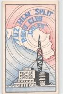 QSL Cards - YU2 HLM Split - Radio Club -  31.03.83., Yugoslavia - Radio Amatoriale