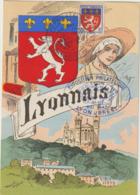 Carte Maximum FRANCE  N°Yvert 572 (LYONNAIS) Obl Sp Ill Expo Lyon-Brest (Ed EMI Gd Ft) - 1940-49