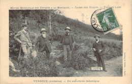 07 ARDECHE 4 Messieurs En Excursion Botanique Aux Environs De VERNOUX Collection De La Caisse Des écoles De Lyon - Vernoux