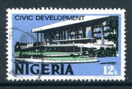 Nigeria 1973-74 Pictorials - Photo. - 12k Civic Development Used (SG 284) - Nigeria (1961-...)