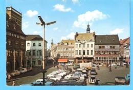 Hasselt-+/-1970-De Grote Markt-La Grand Place-Vieilles Voitures-Oldtimers-VW Käfer-Coccinelle-Renault 4.... - Hasselt
