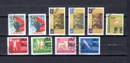 Albania   1963 .-  Y&T Nº    641/645-652/654-659/660 - Albanie
