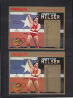 Olympics 1984 - Olympiques 1984 - Weightlifting - PARAGUAY - S/S A+B MNH - Ete 1984: Los Angeles