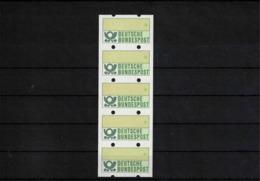 Deutschland / Germany 1981 ATM Briefmarke 5er Streifen Mit Nummer Ohne Wertangabe Postfrisch / MNH - [7] Federal Republic