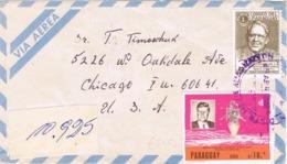 34726. Carta Aerea Certificada ENCARNACION (Paraguay) 1968. Kennedy Stamp - Paraguay