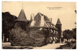 CPA      87    NEXON      1958          LOGIS DE CHAMPAGNAC - Autres Communes