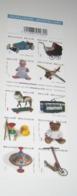 Boekje 89**/ Carnet 89 MNH / Speelgoed - Des Jouets - Toys - Zelfkl. Autocoll./ 3754/63** - Booklets 1953-....