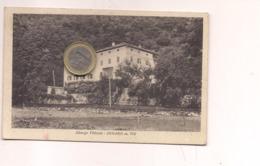 P245 Trentino Alto Adige DIMARO Trento Albergo Vittoria 1936 Viaggiata Manca Farncobollo - Italia