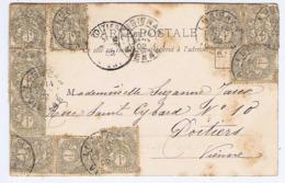 VIENNE - Cachet Manuel LUSIGNAN Du 14 -1  02 - Bolli Manuali