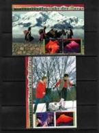 UNO Wien 2002 International Year Of Mountains Interesting Postcards - Geologie