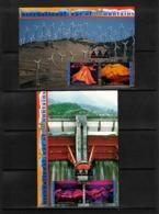 UNO New York 2002 International Year Of Mountains Interesting Postcards - Geologie