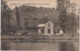 Cher :  ST  SATUR :  Gare  D El '  économique , Le  Côteau   Sancerrois  , Automobile - Saint-Satur