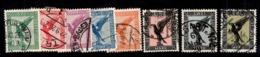 Allemagne/Reich Poste Aérienne YT N° 27/34 Oblitérés. B/TB. A Saisir! - Airmail