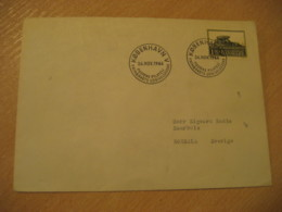 KOBENHAVN 1966 Dansk Fredning Dolmen Menhir Stamp Cancel Cover DENMARK Prehistory Prehistoire - Préhistoire
