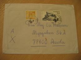 KARLSKRONA 1979 Dolmen Menhir Stamp On Cancel Cover SWEDEN Prehistory Prehistoire - Preistoria