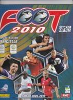 Album Panini Foot 2010 (PSG, OM, OL Lyon...) - Panini