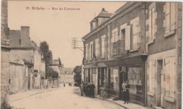 Cher :  ST  SATUR :  Rue  Du  Commerce - Saint-Satur