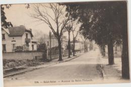 Cher :  ST  SATUR :  Avenue  De  Saint   Thibault - Saint-Satur