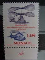 MONACO 2007 Y&T N° 2597 ** - CENTENAIRE DU 1er VOL DE L'HELICO DE MAURICE LEGER - Monaco
