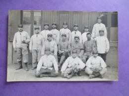 CPA PHOTO MILITAIRES POILUS - Guerre 1914-18