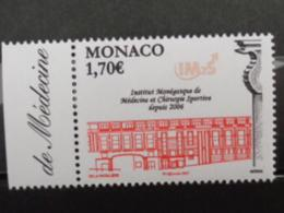 MONACO 2006 Y&T N° 2582 ** - OUVERTURE DE L'INSTITUT MONEGASQUE DE MEDECINE..... - Monaco