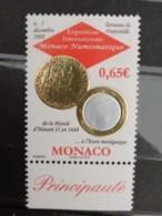 MONACO 2008 Y&T N° ** - EXPOSITION INTERN. MONACO NUMISMATIQUE - Monaco