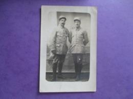 CPA PHOTO MILITAIRES POILUS ? N° COLS 13 - Guerre 1914-18