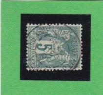 SAGE N° 75 TYPE IIB   - CACHET A DATE  LES MOUTIERS LES MAUFAITS- VENDEE - 30 DEC.1896  - REF 1602 - 1876-1898 Sage (Type II)