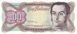 BILLETE DE VENEZUELA DE 100 BOLIVARES DE DICIEMBRE-8-1992 SIN CIRCULAR  (BANKNOTE) UNCIRCULATED - Venezuela