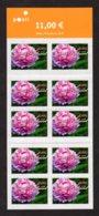 FINLANDE 2009 - Yvert N° 1918 - Facit 1953 - Neuf ** / MNH - FEUILLET 10 Valeurs - Flore, Fleur, Pivoine De Chine - Markenheftchen