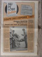 Journal Pays De Loire Cyclisme N°27 (13 Oct 1983) Coupe Des Espoirs - Fête Du Vélo Aux Essarts - Sport