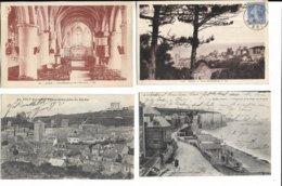 80 - Lot De 20 Cartes Postales Différentes D' AULT ( Somme ).   Toutes Scannées - Cartoline