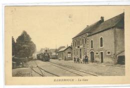 RAMBROUCH -La Gare.Ed,Hansen. - Postkaarten