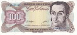 BILLETE DE VENEZUELA DE 100 BOLIVARES DE OCTUBRE-13-1998 SIN CIRCULAR  (BANKNOTE) UNCIRCULATED - Venezuela