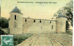 N°76842 -cpa Saint Médard En Jalie -château De Gajac - Otros Municipios