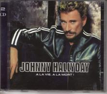 "JOHNNY HALLYDAY ""A LA VIE, A LA MORT !"" DOUBLE CD - Muziek & Instrumenten"