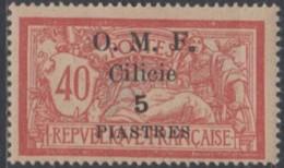 Cilicie Occupation Française - N° 85 (YT) N° 86 (AM) Neuf *. - Cilicia (1919-1921)