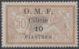 Cilicie Occupation Française - N° 86 (YT) N° 87 (AM) Neuf *. - Cilicia (1919-1921)