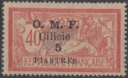 Cilicie Occupation Française - N° 94 (YT) N° 95 (AM) Neuf *. - Cilicia (1919-1921)