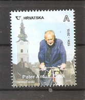 CROATIA 2019,FATHER ANTUN CVEK-THE GOOD SPIRIT OF ZAGREB, CROATIA HRVATSKA,,MNH - Kroatien