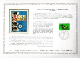 Document Artistique Philatélique Cérès N° 399 (YT N° 2066): RARE !!! - Postdokumente